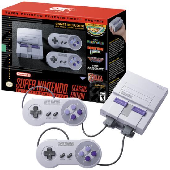 Console Super Nintendo Classic Edition