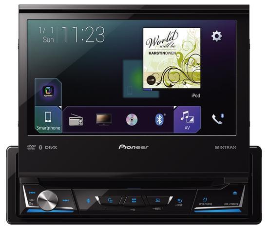 "Toca DVD Pioneer AVH-Z7050TV 7"" Bluetooth/USB"