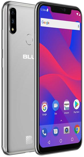 "Smartphone Blu Vivo Xi+ Dual Sim Lte 6.2"" FHD 6GB Prata Anatel Garantia 1 Ano No Brasil"