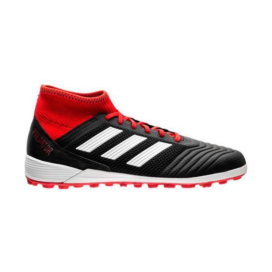 Chuteira Adidas Predator Tango 18.3 TF Vermelho com Preto Masculino ... 396f1def30ca1