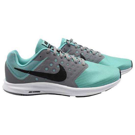 Tenis Nike Downshifter 7 Feminino No 8 - Cinza Verde na loja Mega ... 196d9620fa0a9