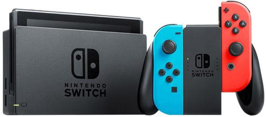 Console Nintendo Switch 32GB - Azul/Vermelho