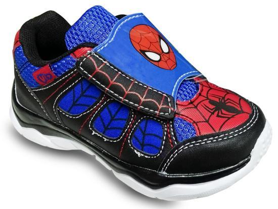 Tenis Vit Marvel Spider-Man com Luz 041-00130 Masculino