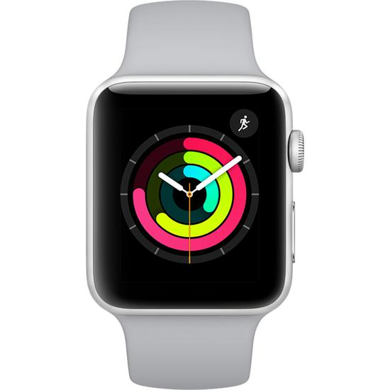 b752b15d3 Relogio Apple Watch Series 3 42 MM MTF22CL A A1859 Sport Band - Silver