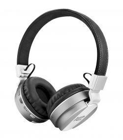 Fone com Microfone Klip KHS-640SV Headph Bluetooth Prata