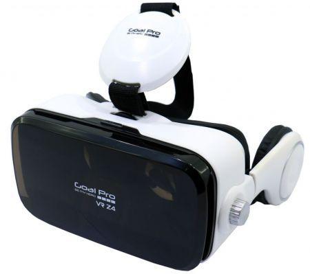 Oculos Goal Pro Gear VR Z4 - com Fone de Ouvido - Preto e Branco 2f5b365b70