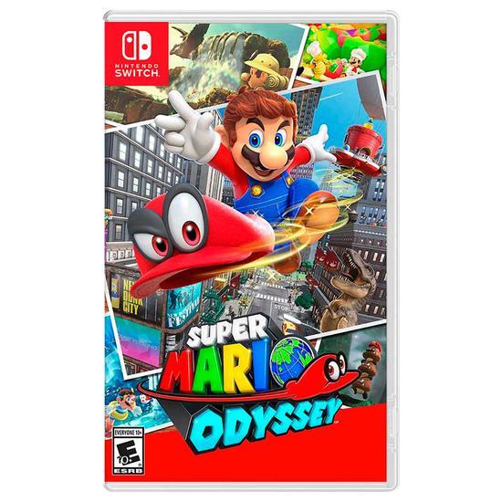 Jogo Switch - Super Mario Odyssey