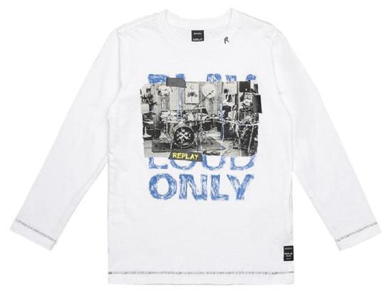 Camiseta Replay SB7060.068.2660.001 Masculina