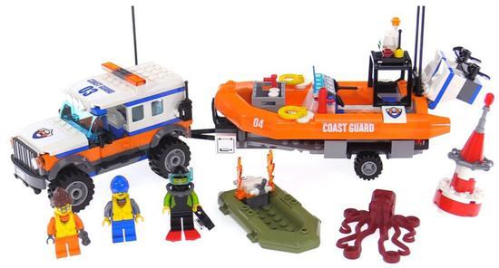 Lego City 4 X 4 Response Unit 60165 347 Pecas