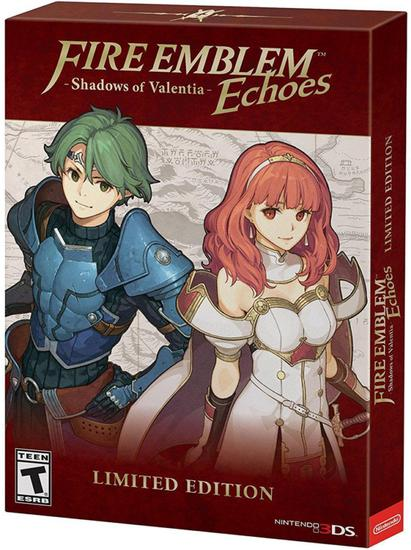 Jogo Fire Emblem Echoes: Shadows Of Valentia Kit Limited Edition - Nintendo 3DS