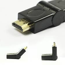 Adaptador Giratorio HDMI Femea para Macho