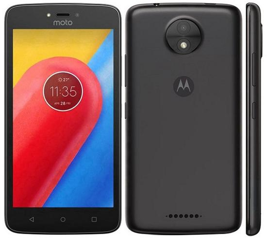 "Smartphone Motorola Moto C Plus XT1725 1 Sim Lte 5.0"" 16GB Cam.8MP+2MP-Preto"