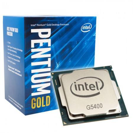 Processador Intel G5400 1151 (8GER) 2C/4T 3.7GHZ 4MB