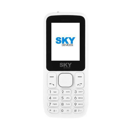 "Celular SKY Devices F1 Prime Dual Sim Tela de 1.77"" Camera VGA - Branco"