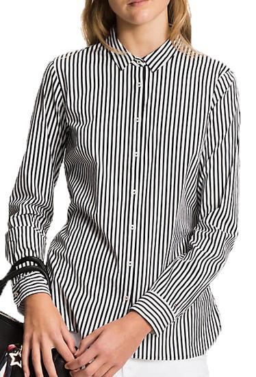 Camisa Tommy Hilfiger Fitted WW0WW20545 910 - Feminina