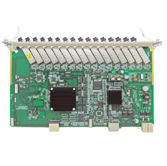 F. Olt Placa GTGH C++ para Zte C300-C320 com 16 SFP Modulos