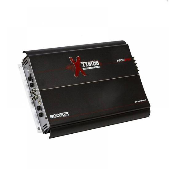 Amplificador Booster 4CH BA-XM16004 Stereo 1600W
