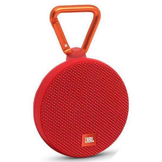 Caixa de Som JBL Clip 2 3W com Bluetooth/Microfone Bateria 730 Mah - Vermelho