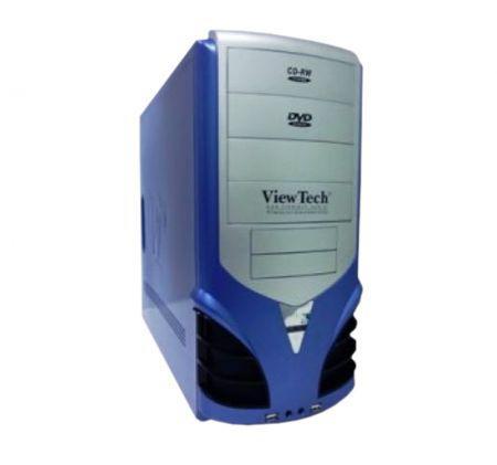 Gabinete Gamer Viewtech 5105 Premiun P4 Azul