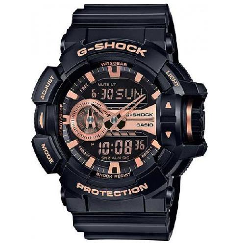 041db106a3b Relogio Analogico Digital Casio G-Shock GA-400GB-1A4DR Masculino - Preto