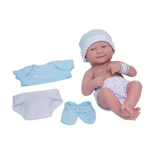 JC Toys Boneca 18551 35CM Enxoval Azul