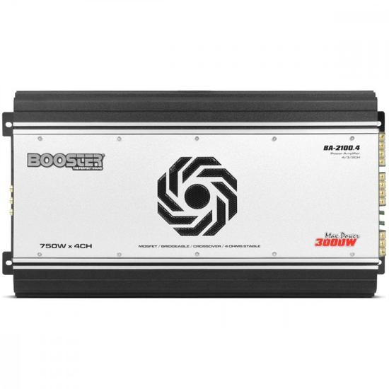 Amplificador Booster BA-2100.4 4CH 3000W