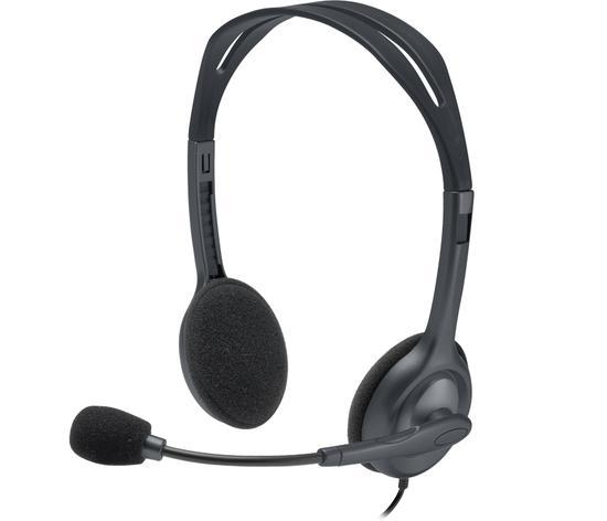 Fone Logitech H111 Stereo Headset Preto P2