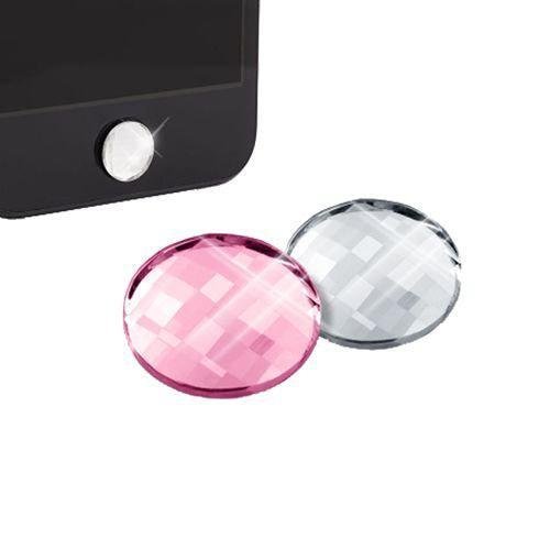 Home Button White Diamonds 2 In 1