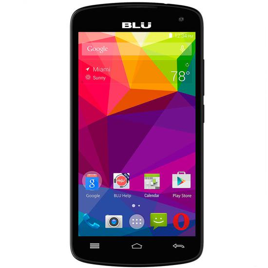 Celular Blu Studio X8 HD s-530 4GB Dual Preto