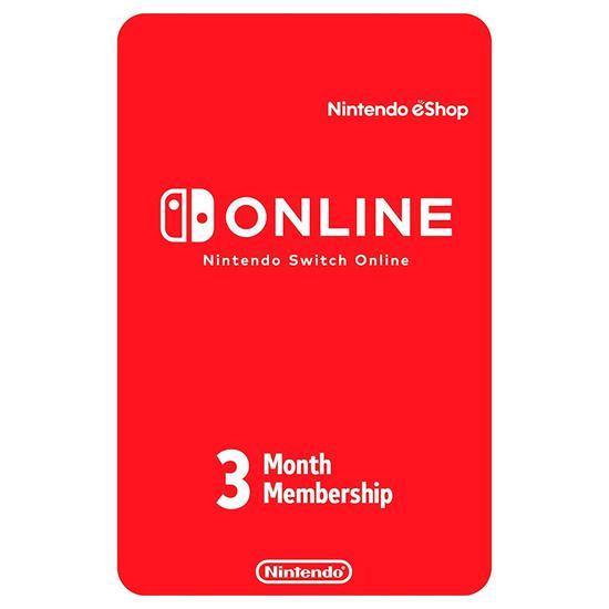 Nintendo Eshop 3 Meses Membership