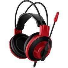 Fone com Microfone MSI DS501 Gaming - Preto/Vermelho