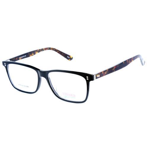 Oculos Armacao Visard 7737 C1 2 - Black/Brown