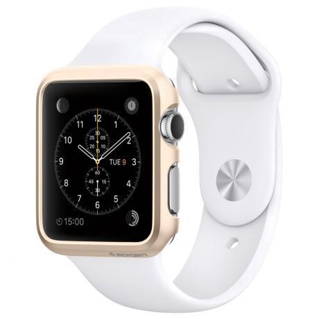 009104cd015 Relogio Smartwatch Modelo Apple Branco com Dourado na loja Atacado ...
