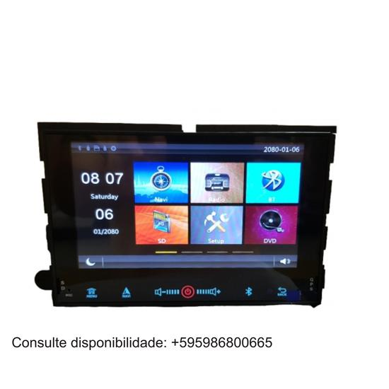 Central Multimidia Hetzer Chevrolet Cobalt/Onix/Prisma/Spin Sem Leitor de DVD S500A