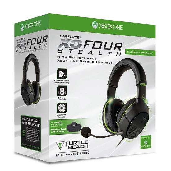Headset Turtle Beach Ear Force Xo Four Xbox One