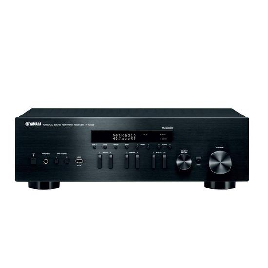 receiver yamaha r n402 stereo a b bi volt 100w na loja. Black Bedroom Furniture Sets. Home Design Ideas