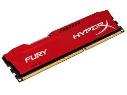 Memoria Kingston Hyperx Fury de 4GB 1866MHZ DDR3 - Vermelho