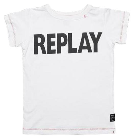 Camiseta Replay Infantil SB7301.081.2660.001 Feminina