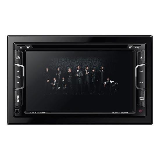 DVD Automotivo Napoli 2DIN DVD-TV7335 GPS
