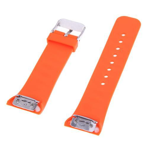 Pulseira 4LIFE de Silicone para Samsung Galaxy Gear Fit 2 - Large - Orange