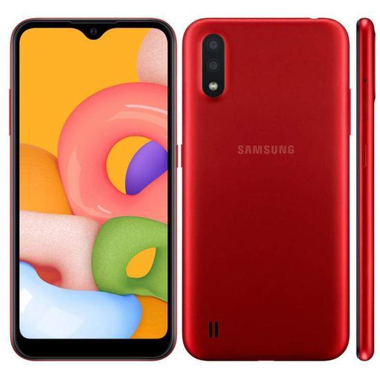 Smartphone Samsung Galaxy A01 SM-A015M Lte Dual Sim 5.7 ...