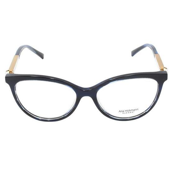 3468bb4d1 Armacao para Oculos de Grau Ana Hickmann Paris II Ocean Feminina - Azul