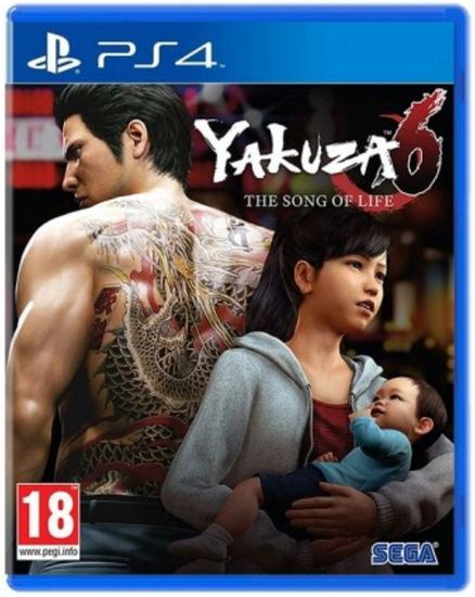Jogo Yakuza 6: The Song Of Life -PS4