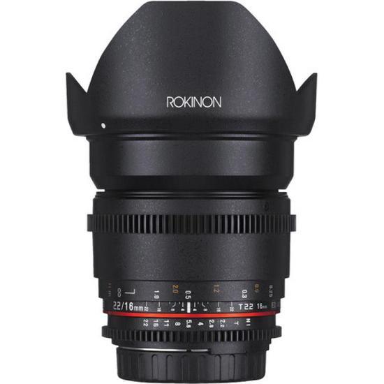 Lente Rokinon Canon 16MM T2.2 Cine DS