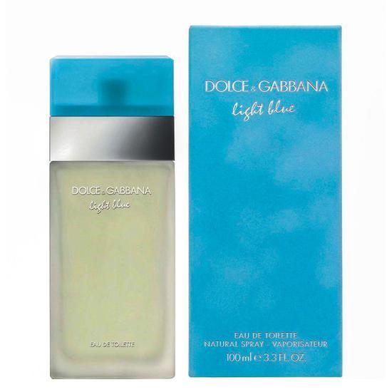 perfume dolce gabbana dolce gabanna light blue edt 100ml. Black Bedroom Furniture Sets. Home Design Ideas