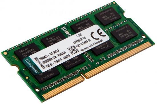 Memória Kingston 2GB - DDR3 CL9 para Notebook - 1600MHZ - KVR16LS11S - PC3