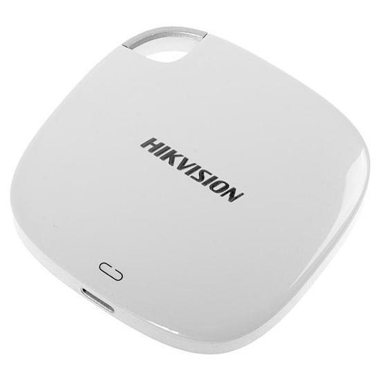 HD Externo de 128GB Hikvision HS-ESSD-T100I - Branco