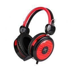 Fone com Microfone Xtrike Me HP-308 Gaming Headset Preto/Vermelho