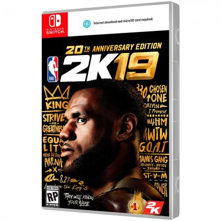 Jogo Nba 2K19 20TH Anniversary Edition Nintendo Switch