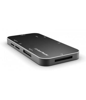 Leitor de Cartao USB Mtek CR316P USB 3.0 CF/SD/SDH